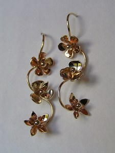 Tasmanian wildflower earrings