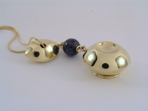 Lapis lazuli treasure locket