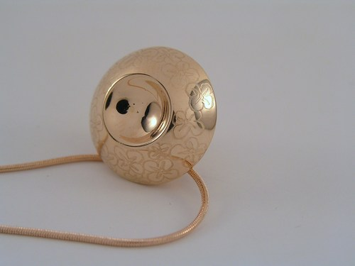 'Wildflower' treasure locket